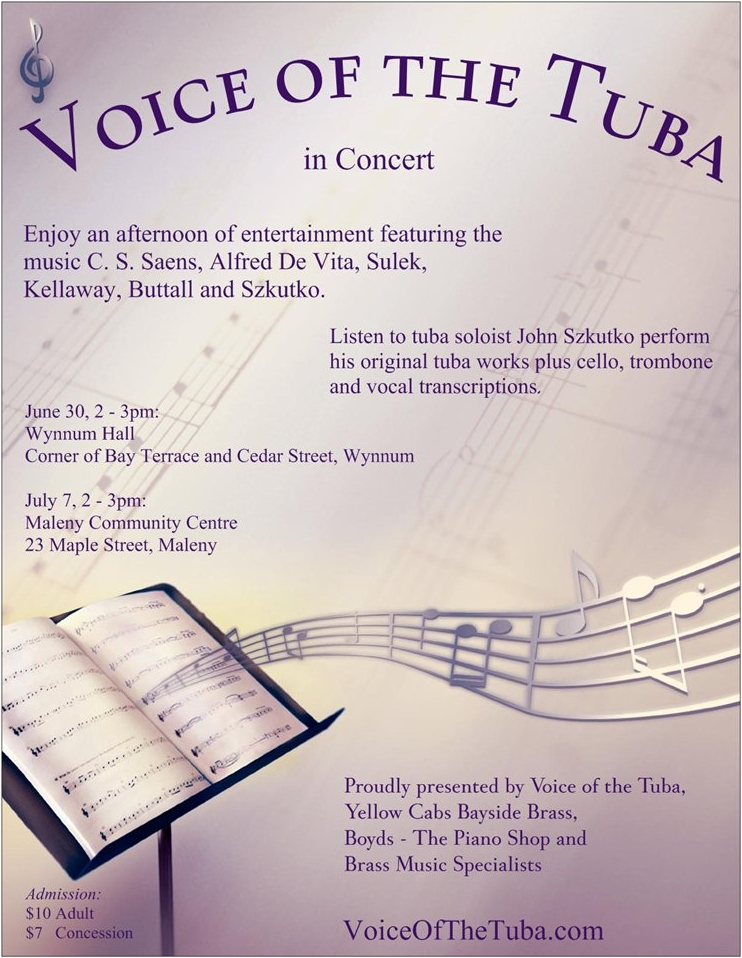 Voice of the Tuba In Concert